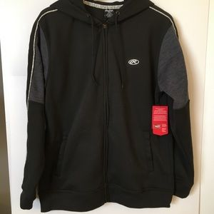 Rawlings. Men's Zip Up Hoodie Size Medium